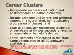 career clusters1