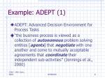 example adept 1