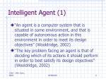 intelligent agent 1