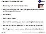 parallel execution model