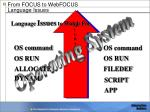 from focus to webfocus language issues1
