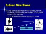 future directions1
