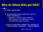 why do obese kids get osa