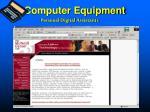 computer equipment4