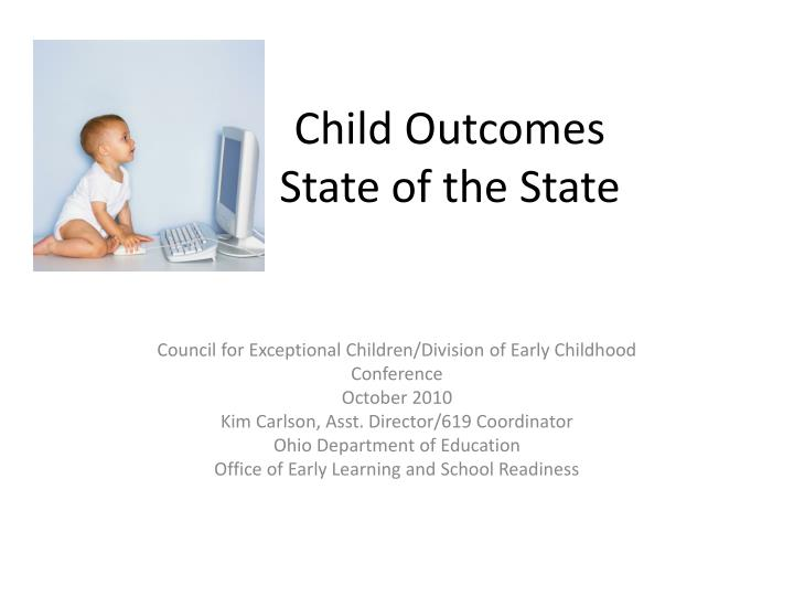 child outcomes state of the state n.