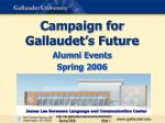 campaign for gallaudet s future