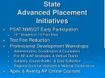 state advanced placement initiatives