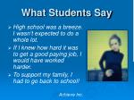 what students say1