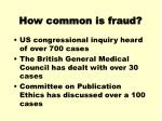 how common is fraud2