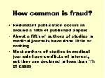how common is fraud3