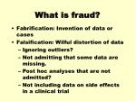 what is fraud1