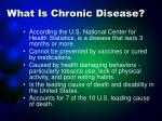 what is chronic disease