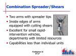 combination spreader shears