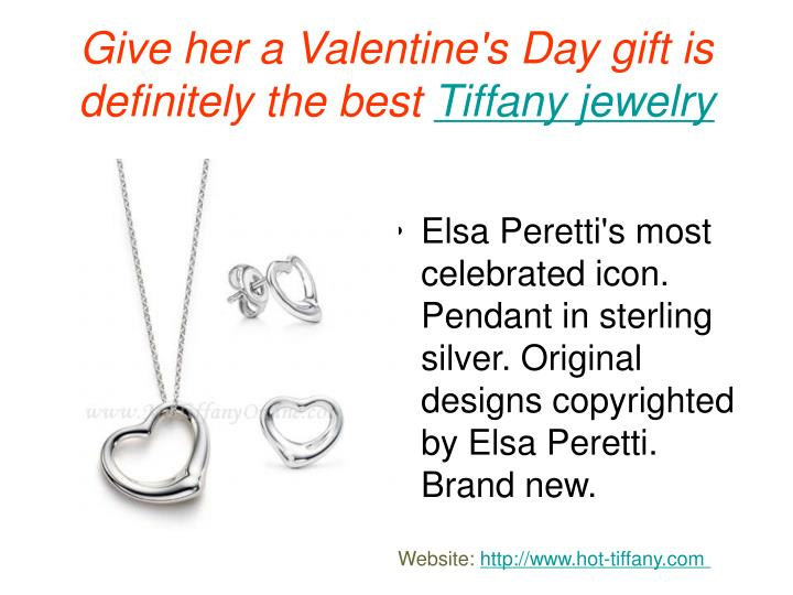 Give her a valentine s day gift is definitely the best tiffany jewelry2