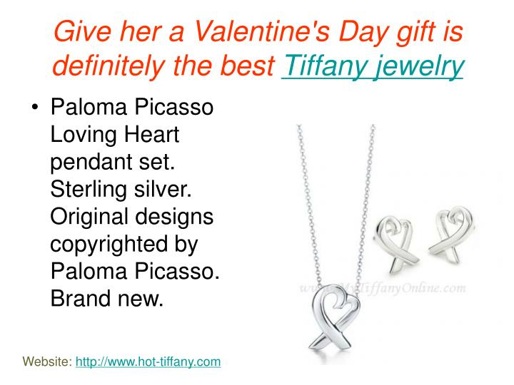 Give her a valentine s day gift is definitely the best tiffany jewelry3
