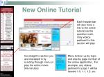new online tutorial