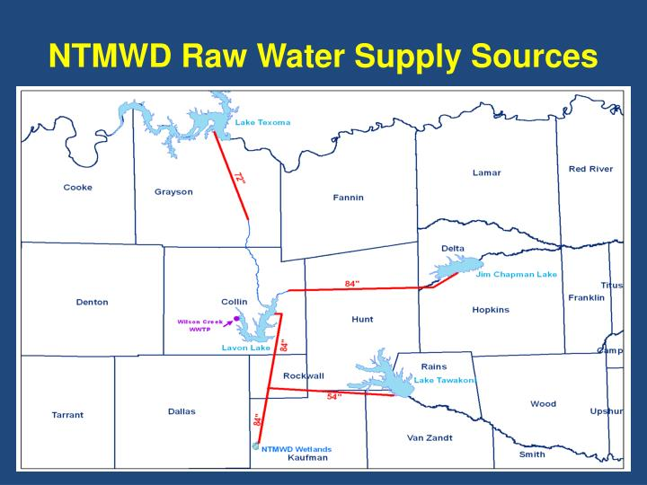 Ppt North Texas Municipal Water District S Proposed