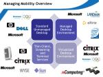managing mobility overview