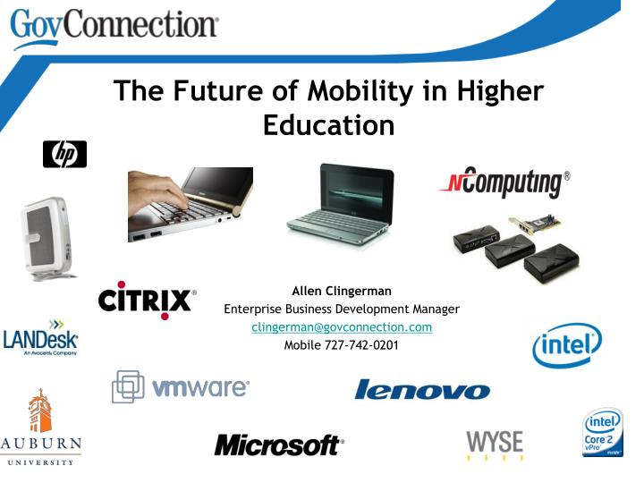 the future of mobility in higher education n.