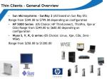 thin clients general overview