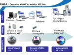 wimax extending wimax to mobility 802 16e