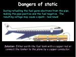 dangers of static