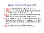 prune and search approach1