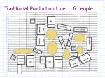 traditional production line 6 people
