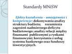 standardy mnisw1