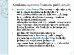 struktura systemu finans w publicznych1