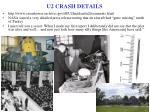 u2 crash details