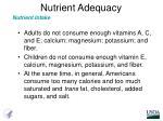 nutrient adequacy2