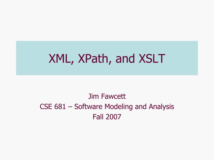 xml xpath and xslt n.