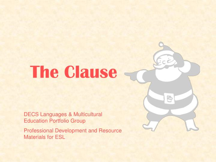 the clause n.