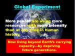 global experiment