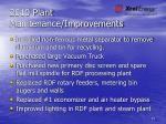 2010 plant maintenance improvements