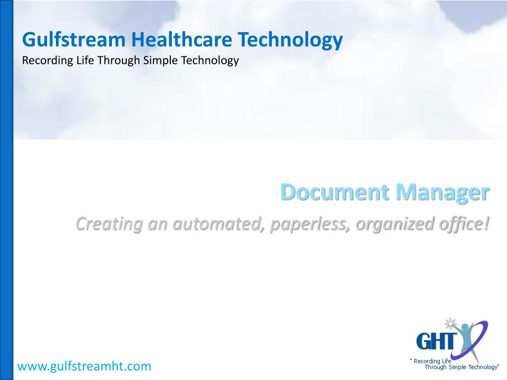 gulfstream healthcare technology recording life through simple technology l.