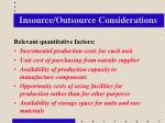 insource outsource considerations