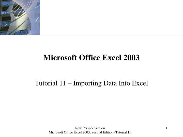 microsoft office excel 2003 n.