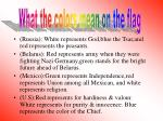 what the colors symbols mean