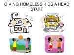 giving homeless kids a head start1