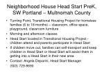 neighborhood house head start prek sw portland multnomah county