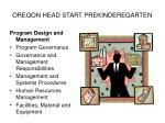 oregon head start prekinderegarten