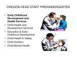 oregon head start prekindergarten