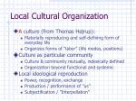 local cultural organization
