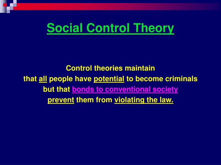 theories and techniques of crime control Practice theory deterrence theory posits that crime can be prevented if potential offenders believe the costs of committing a crime outweigh the benefits (zimring and.