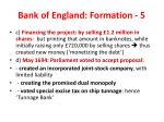 bank of england formation 5