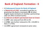 bank of england formation 6