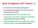 bank of england in 18 th century 21