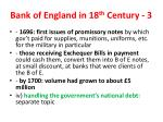 bank of england in 18 th century 3